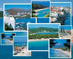 Острова Греции фотоколлаж